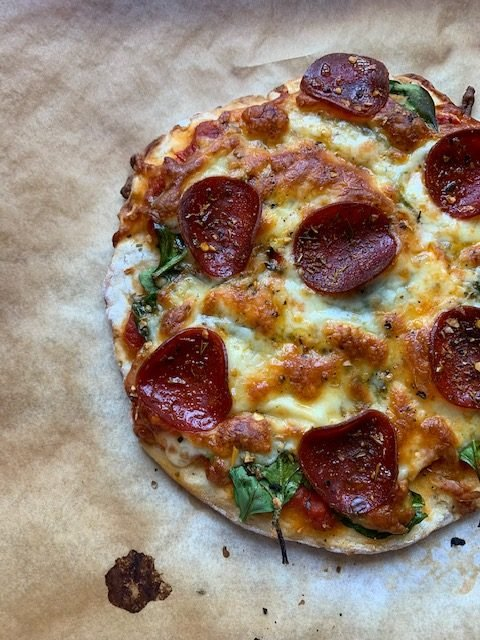 Party Pizza Friday Just Got Alot Healthier With This Skinny Pizza Dough